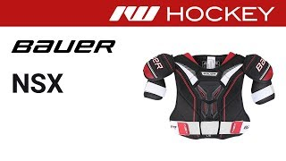 Bauer NSX Shoulder Pad Review