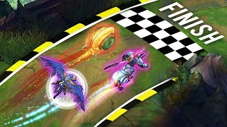 THE ULTIMATE SPEED MONTAGE - Who Is The Fastest?   League of Legends