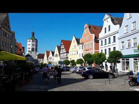 Günzburg, Germany: Marktplatz