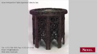 Asian Antique End Table Japanese Tables For Sale