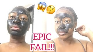 Charcoal mask is it even worth it?? |Live review- Mirriam Madyenkuku