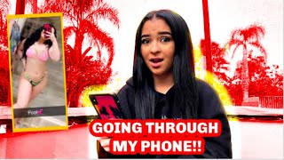 Letting My Girlfriend Go Through My Phone *Risky