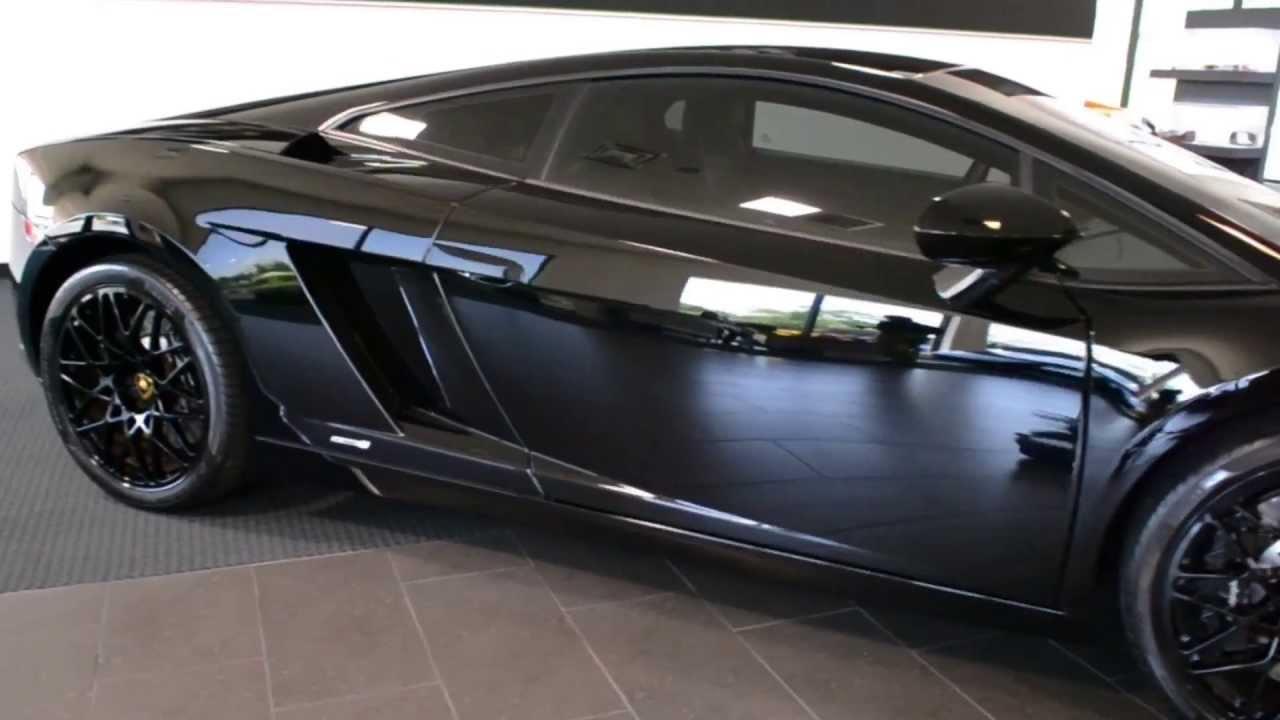 2012 Lamborghini Gallardo Lp 550 2 Black Edition Lc232 Youtube