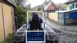 Gambar cover Гусеничный трактор своими руками