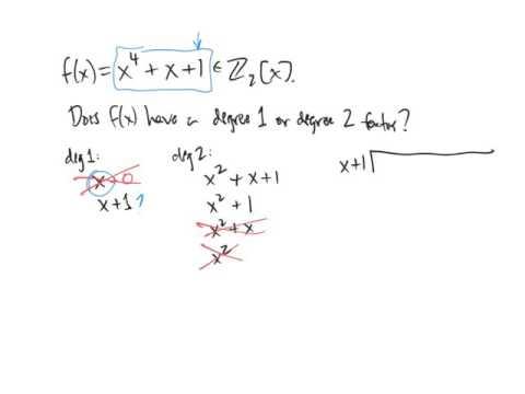 Irreducible Polynomials
