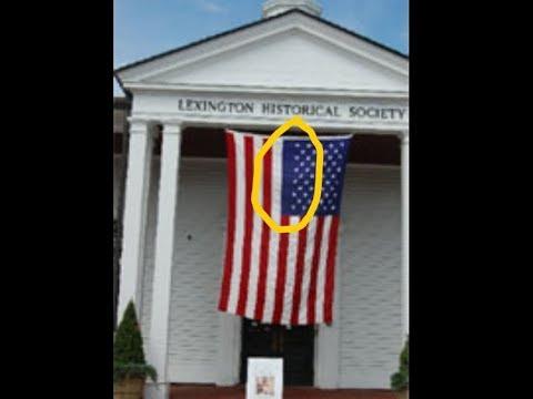 Mandela Effect :Offical Vertical Flag Hanging Change Residue /Proof
