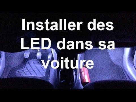 installer des led facilement dans sa voiture pour pas cher youtube. Black Bedroom Furniture Sets. Home Design Ideas