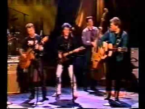 Brian Setzer, Marty Stuart, Ricky Skaggs & Elvis Costello   Honey Don't