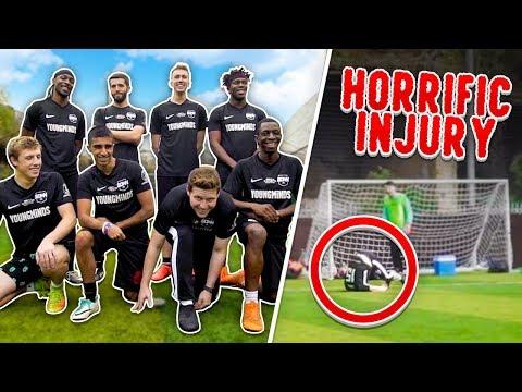 SIDEMEN 6ASIDE FOOTBALL *HORRIFIC INJURY*