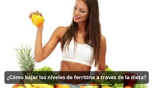 mejores alimentos para bajar la ferritina