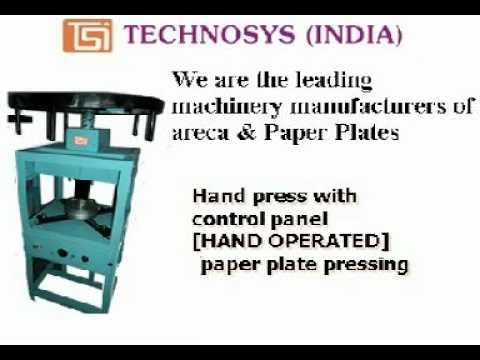 technosysindia2010 ( Manufacturers of areca \u0026 paper plate making machines \u0026 dies)  sc 1 st  YouTube & technosysindia2010 ( Manufacturers of areca \u0026 paper plate making ...