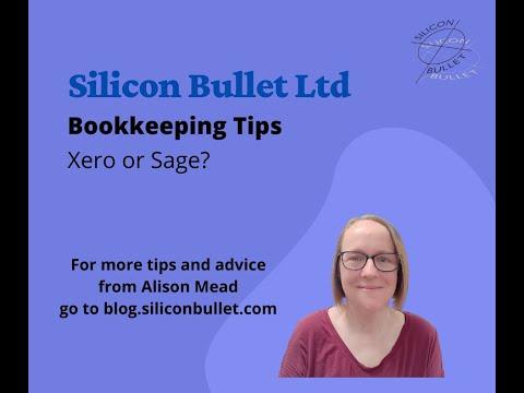 Bookkeeping Tips – Xero or Sage