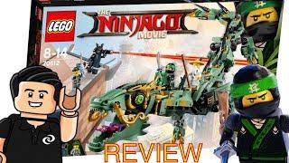 Lego Ninjago Dragon Mecanico del Ninja Verde Set 70612 Review de Juguetes en Español