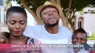 Download Video Amakye and Dede to be premiered in Kumasi but the trailer is even funny than the movie MP3 3GP MP4