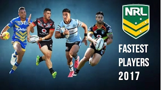 Rugby League | Fastest Players 2017
