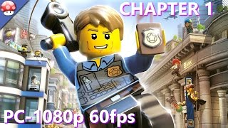 LEGO City Undercover PC Gameplay - Part 1 - Walkthrough (No Commentary) (Steam Lego Game 2017)