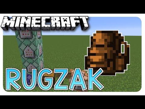 Hoe maak je een RUGZAK in MINECRAFT??? - Minecraft command block tutorial