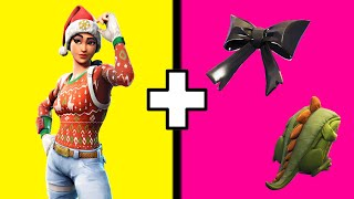 10 BEST COMBOS For The Nog Ops Skin In Fortnite! Nog Ops Skin Best Back Bling Combos!