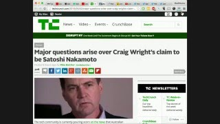 Craig Wright provides poor proof that he is Satoshi and fools the entire media (LIVE)