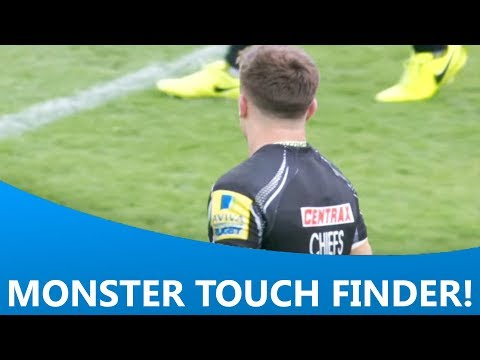 Henry Slade's monstrous touch finder in the last minute