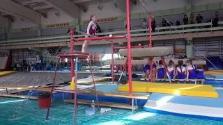 Ессентуки. Соревнования по спортивной гимнастике. Брусья. 03.03.2017