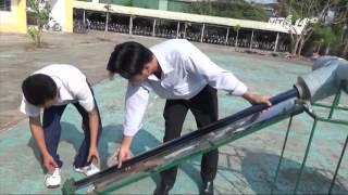 (VTC14)_Học sinh chế tạo máy lọc nước mặn thành nước ngọt