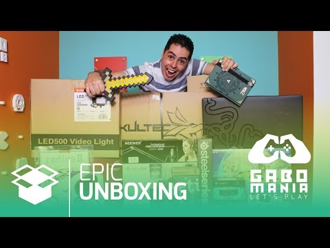 ¡Epic Unboxing Gaming Setup! - Primer video de GaboManía