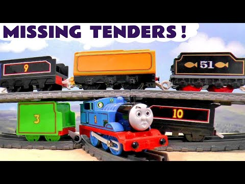 Missing Tenders MYSTERY Story with Thomas and Friends Trains