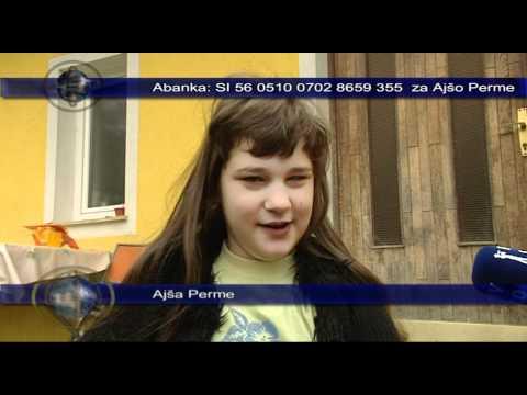 Pomagajmo Ajši Perme, TV Maribor 16.4