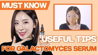 🔔Useful tips for Galactomyces Pure Vitamin C Glow Serum🔔 [SOME BY MI]
