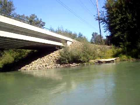 Fishing silver salmon nisqually river lacey wa 2009 youtube for Nisqually river fishing report