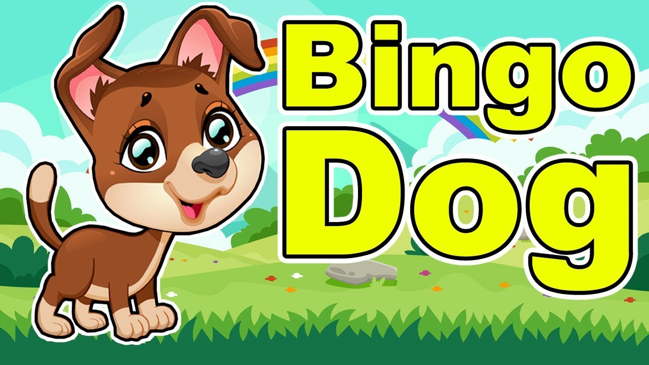 Bingo Dog Nursery Rhyme Songs About Animals Rhymes Kids Music For Babies