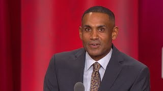 Grant Hill's Basketball Hall of Fame Enshrinement Speech