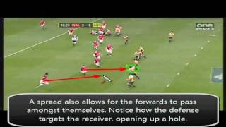 Rugby Coaching - Using Forwards in the Midfield