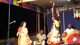 Yakshagana saligrama mela... Prasanna salva , purandara moodkani doota