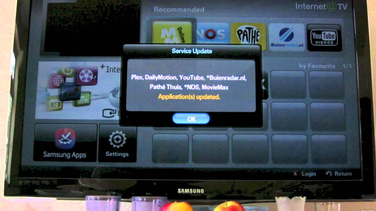 samsung internet tv smarthub television update problem youtube. Black Bedroom Furniture Sets. Home Design Ideas