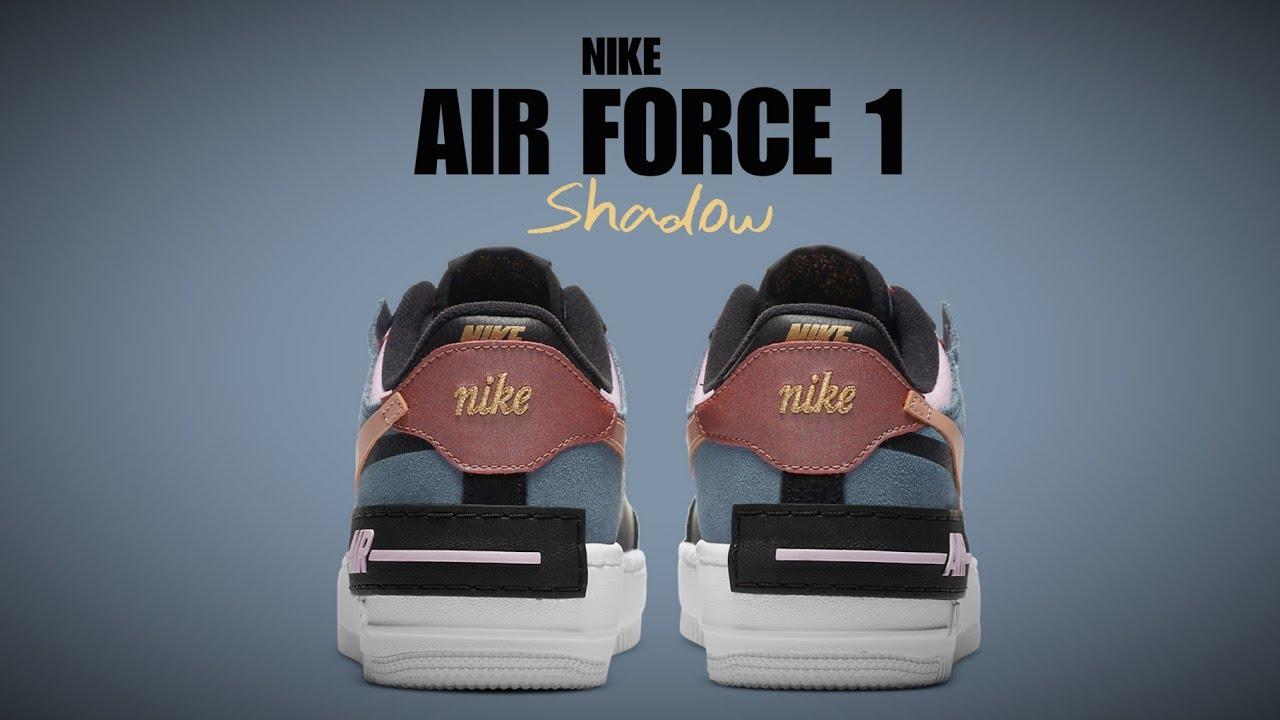 Nike Air Force 1 Shadow Black Arctic Pink Wmns 2020 Detailed Look Youtube Nike air force 1 model: nike air force 1 shadow black arctic pink wmns 2020 detailed look