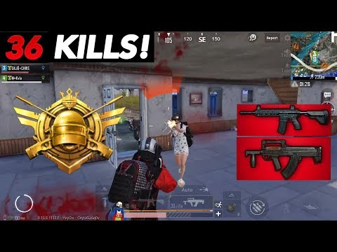 AGGRESSIVE CONQUEROR TIER GAMEPLAY! | 36 KILLS VS SQUADS | PUBG Mobile