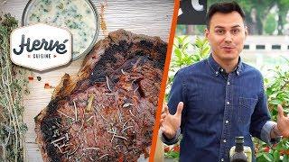 Recette facile entrecôte au barbecue ou plancha ! cuisson parfaite + idées marinade facile