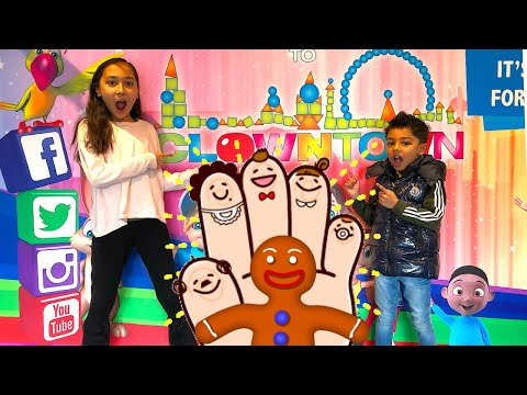 Kids Indoor Soft Play Clowntown London. Finger Family Song