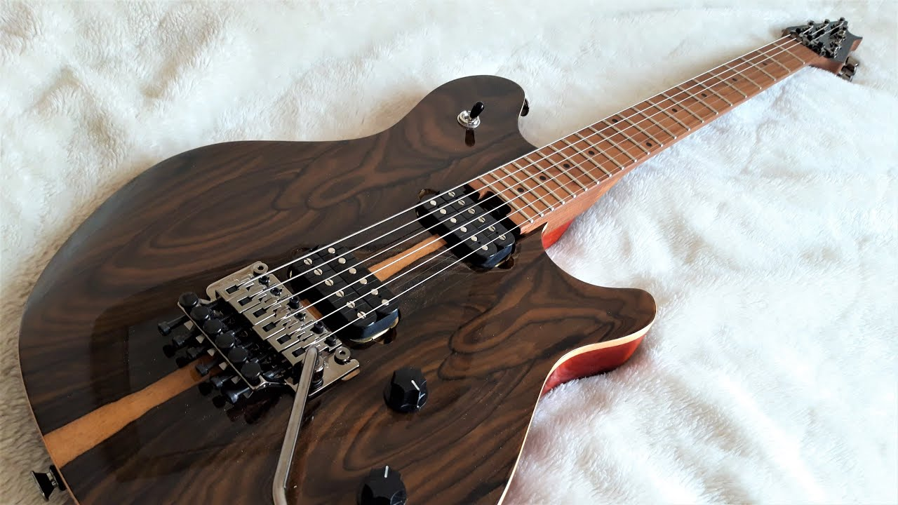the new evh wolfgang wg standard exotic ziricote sounds awesome youtube. Black Bedroom Furniture Sets. Home Design Ideas