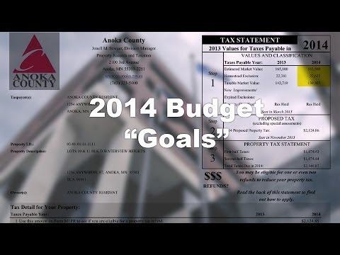 "Anoka County '14 Budget (1) - ""Goals"""
