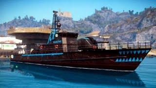 Just Cause 3 - Sea Vehicles | Rebel Corvette - Free Roam Gameplay (PC HD) [1080p60FPS]