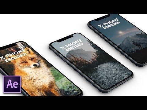 Create a 3D Mobile Phone App Promo | After Effects Tutorial