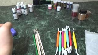 инструменты для лепки из мастики