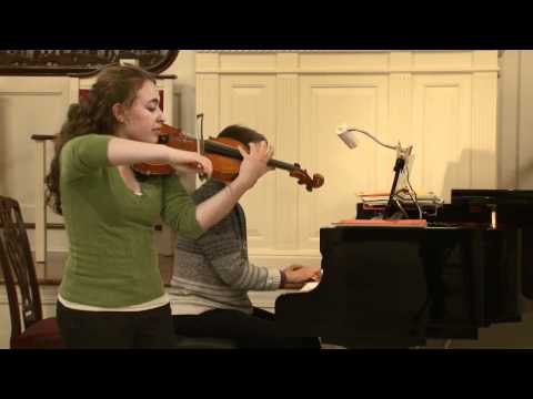 Emily Kaplan Plays Concerto #5 in A minor by Vieux...