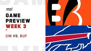 Cincinnati Bengals vs. Buffalo Bills Week 3 NFL Game Preview