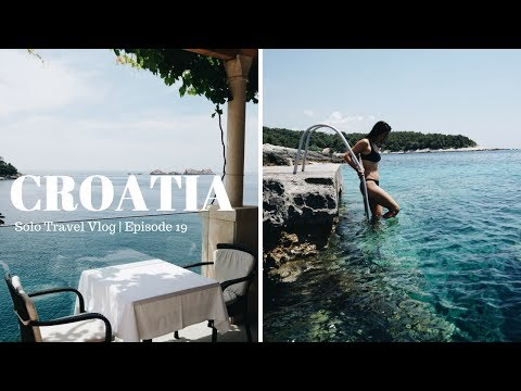 CROATIA HAS THE MOST TURQUOISE WATER | Solo Travel Vlog Stop #19
