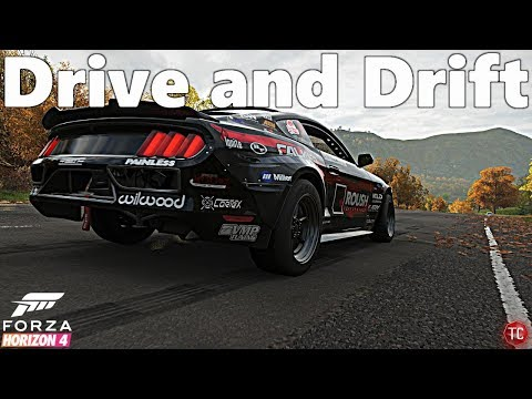 Forza Horizon 4: Justin Pawlak's Formula Drift Mustang! Drift Test, Gameplay, and 1,000,000+ Combo