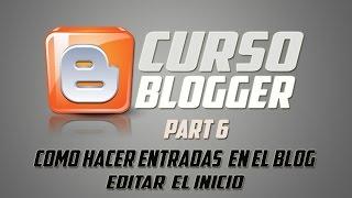 COMO CREAR UN BLOG ESTILO PAGINA WEB PART6